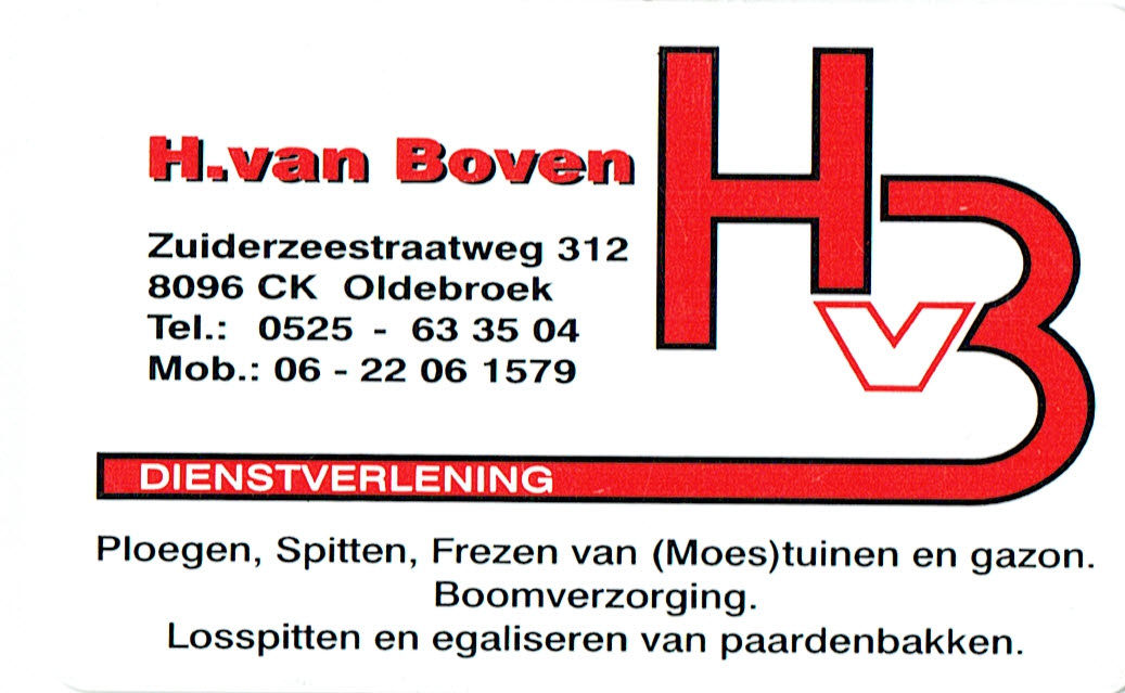 HENK VAN BOVEN LOGO 311042016